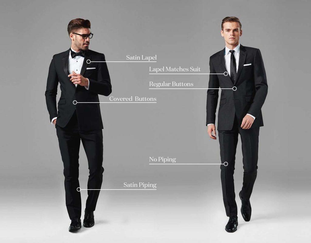 chọn suit hay tuxedo